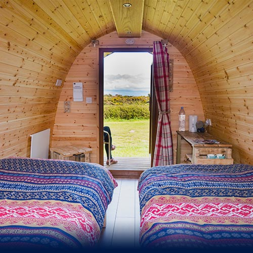 Pod Glamping Accommodation North Wales Relaxing Retreat